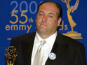 James Gandolfini at the 55th Primetime Emmy Awards