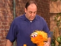 PBS uploads video of late Sopranos actor's 2002 appearance on show to YouTube.