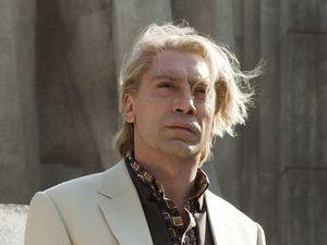 Javier Bardem, blonde hair, Skyfall,