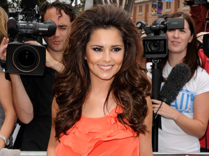 Cheryl Cole, The X Factor US auditions, The Galen Center, Oscar De La Renta top, Diane Von Furstenberg torusers