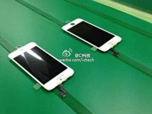 Purported leaked image of the iPhone 5S