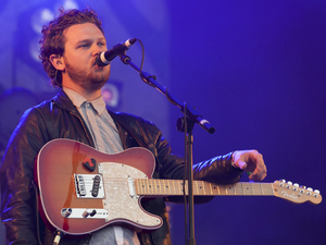 Alt-J perform at Glastonbury festival