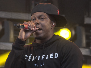Dizzee Rascal performs at Glastonbury 2013