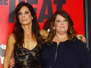"Sandra Bullock, Melissa McCarthy, New York Premiere of ""The Heat"" at the Ziegfeld Theater"