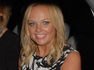 Emma Bunton leaves the Piccadilly Theatre after the final performance of 'Viva Forever!'.