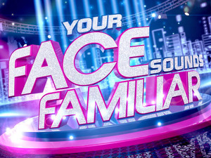 'Your Face Sounds Familiar' logo