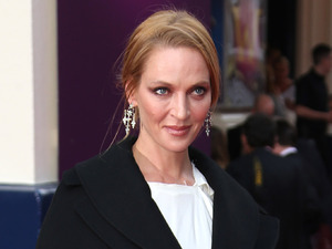 Uma Thurman at the opening night of Charlie and the Chocolate Factory at the Theatre Royal, Drury Lane