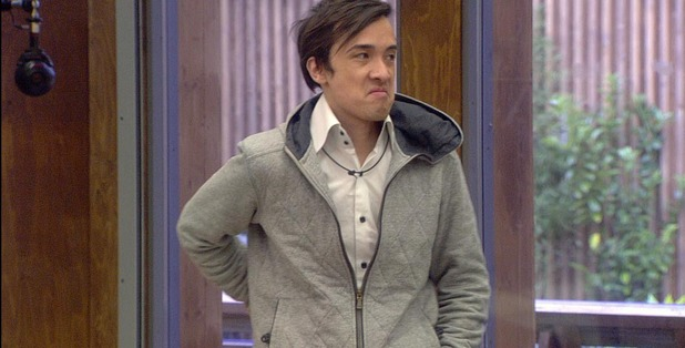 Dexter Koh in the Big Brother house
