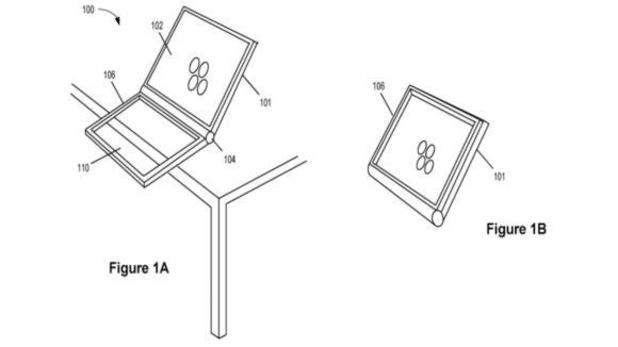 Apple's patent for a  dual trackpad device