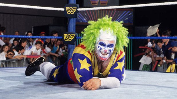Matt Osborne as the WWF's Doink the Clown