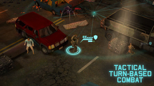 'XCOM: Enemy Unknown' iOS screenshot