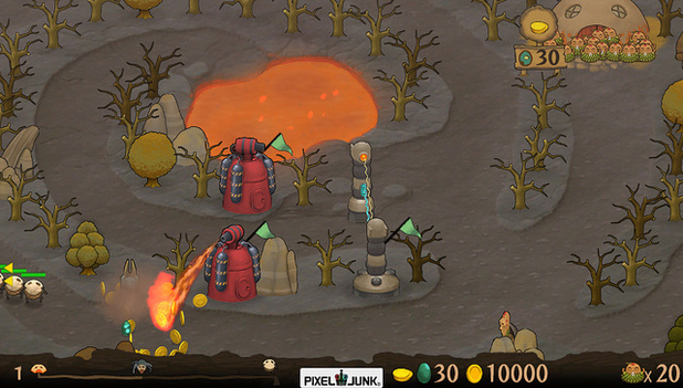 'PixelJunk Monsters: Ultimate HD' Vita screenshot