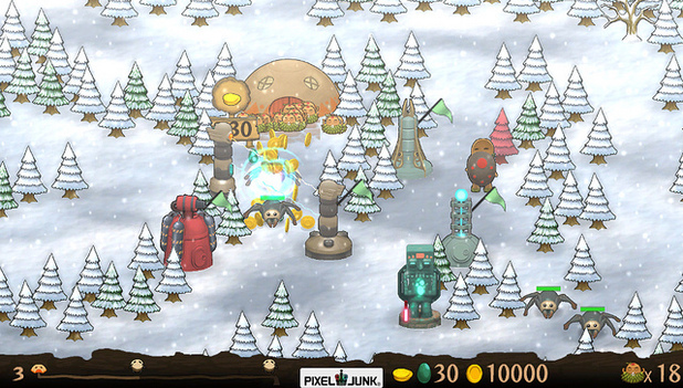 'PixelJunk Monsters: Ultimate HD' Vita screenshot