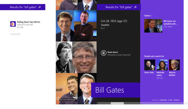 Windows 8.1: Search in Windows, powered by Bing, is the first step towards a more efficient and intuitive way to find the information you want.
