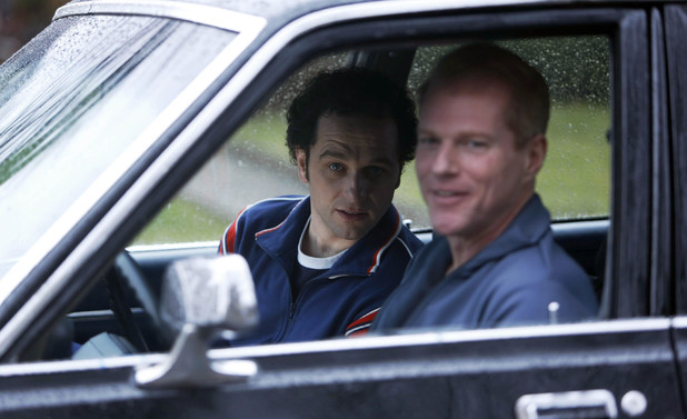 Phillip Jennings (Matthew Rhys) and Agent Stan Beeman (Noah Emmerich) in 'The Americans' Episode 5