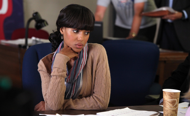 Kerry Washington as Olivia in 'Scandal'