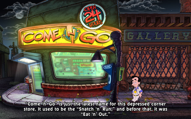 'Leisure Suit Larry: Reloaded' screenshots