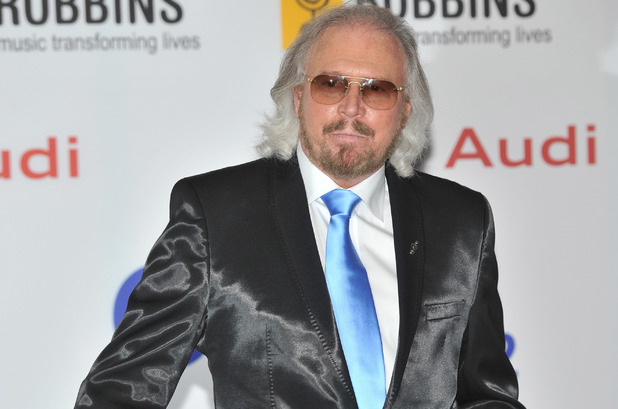 Barry Gibb at the Nordof Robbins O2 Silver Clef Awards