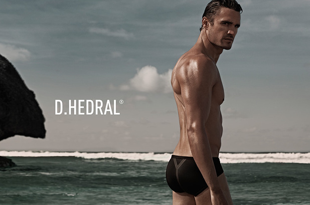 D.HEDRAL BEACH by Daniel Jaems, Thom Evans, trunks, beachwear