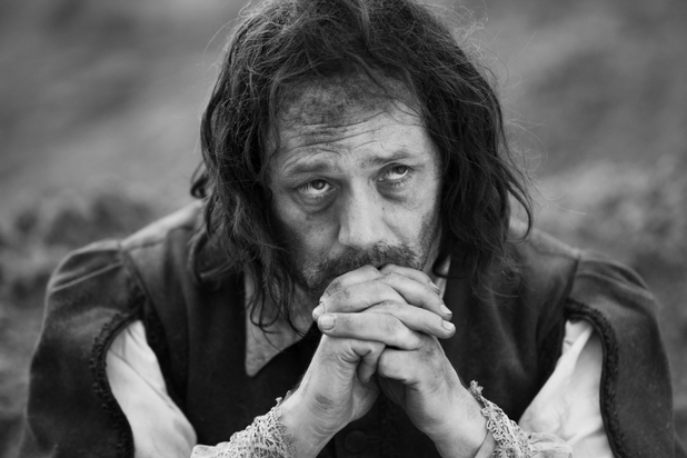 Reece Shearsmith in Ben Wheatley's 'A Field in England'.