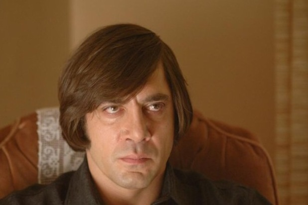 Javier Bardem No Country for Old Men hair