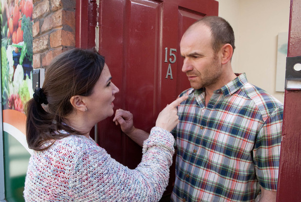 Anna rails at Tim for neglecting Faye. Tim's shocked and assures Anna he thought Faye was staying with her but Anna flies at him.