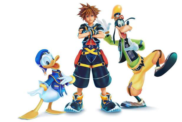 'Kingdom Hearts 3' artwork