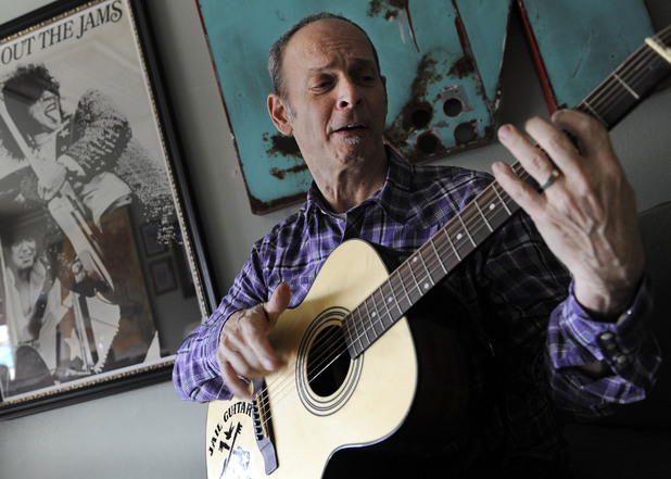 Guitarist Wayne Kramer, founder of the band the MC5 - pictured in January 2012