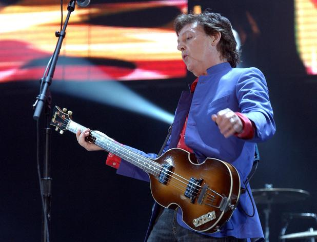 Paul McCartney, Glastonbury Festival, Other Stage, 2004