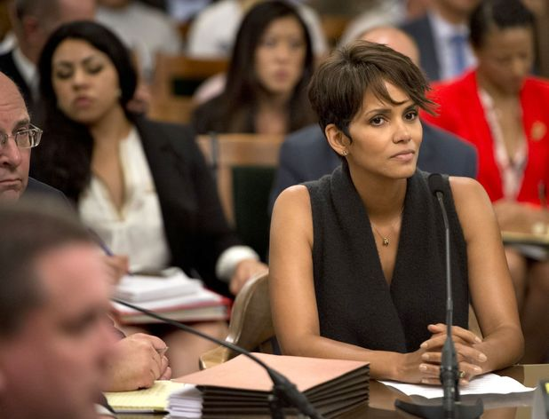 Halle Berry testifies before the California Assembly Committee on Public Safety ~~ June 25, 2013