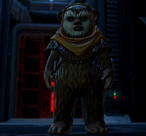 Star Wars: The Old Republic's new Ewok companion