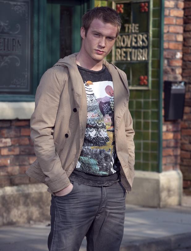 Chris Fountain as Tommy Duckworth in Coronation Street
