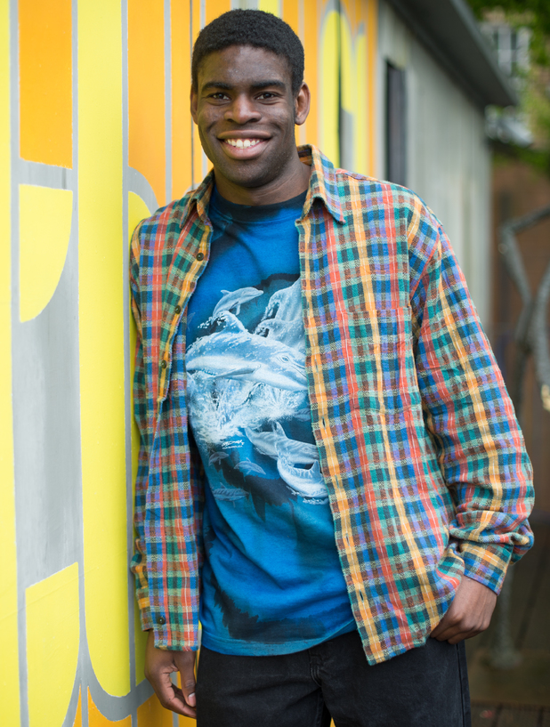 John Omole as Vincent Elegba in Hollyoaks