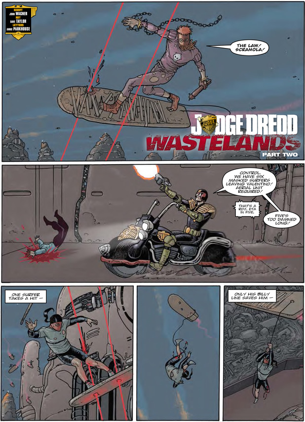 'Judge Dredd: Wastelands Part 2'