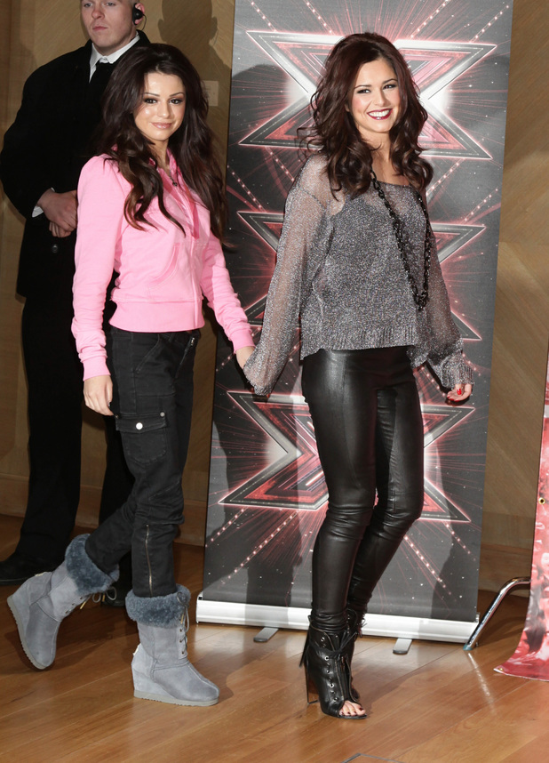 Cheryl Cole and Cher Lloyd