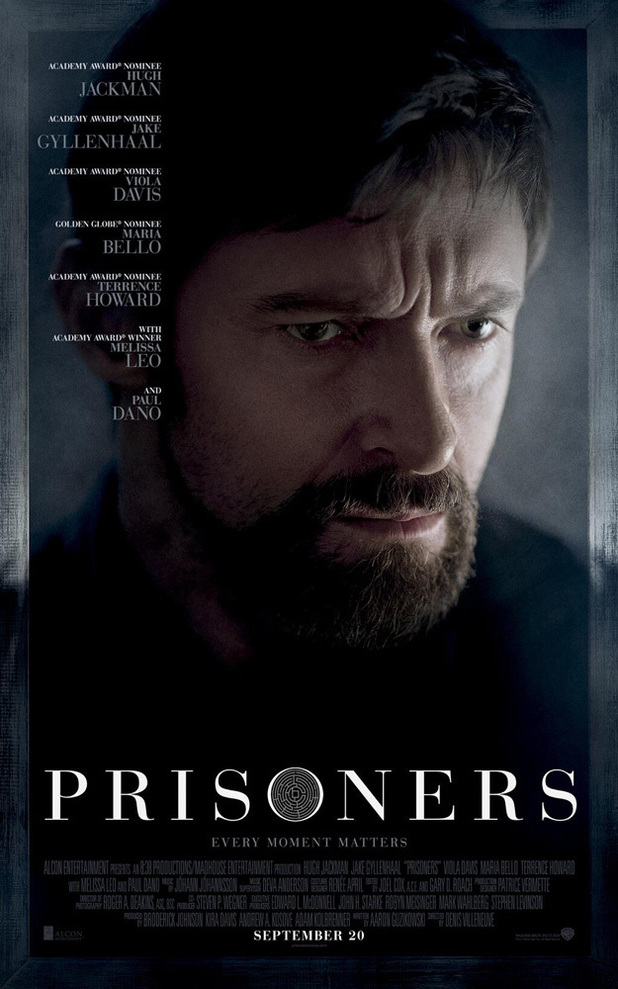 'Prisoners' new poster featuring Hugh Jackman