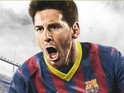 FIFA 14 cover star Lionel Messi will be flanked by region-specific players.