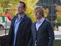 Wedding Crashers stars discuss getting back together for Silicon Valley comedy.