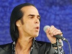 Nick Cave working with Johnny Cash graphic novelist Reinhard Kleist
