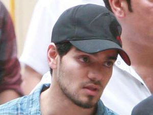 Suraj Pancholi at the funeral of his ex-girlfriend Jiah Khan