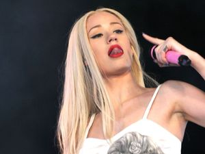 Iggy Azalea at Glastonbury Festival, Somerset, Britain