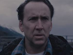 Nicholas Cage in 'The Frozen Ground' trailer still