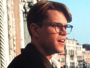 Matt Damon as Tom Ripley in 'The Talented Mr Ripley'