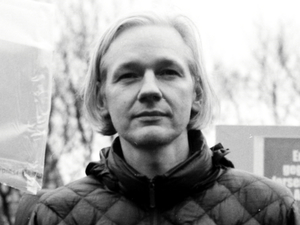 Julian Assange in 'We Steal Secrets'