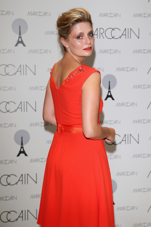 Mischa Barton attends the Marc Cain Photocall during the Mercedes-Benz Fashion Week in Berlin