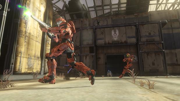 Screenshot from Halo 4's Champions DLC
