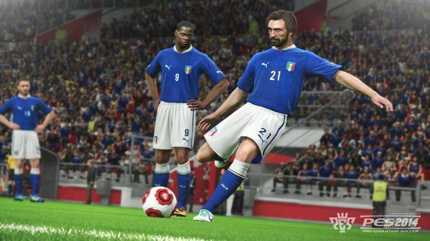'PES 2014' screenshot