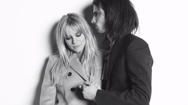 Sienna Miller & Tom Sturridge in the new Burberry advert campaign