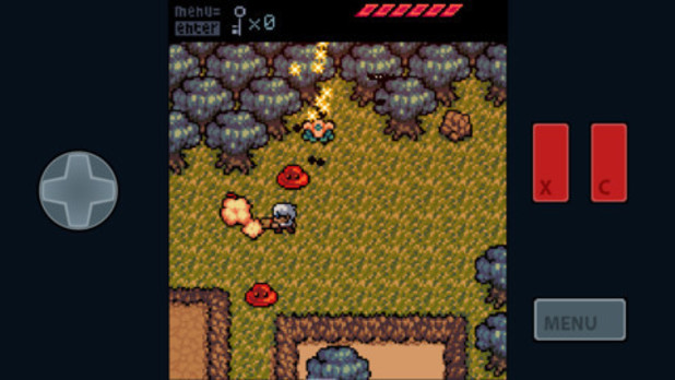 'Anodyne Mobile' on iOS