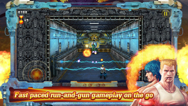 'Contra: Evolution' on iOS